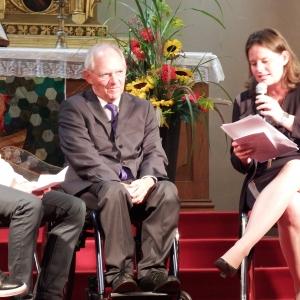 Gottesdienst in der Friedenskirche in Froeschwiller, Elsass